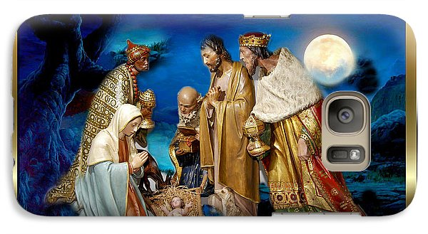 Galaxy Case featuring the painting Wise Men Still Seek Him 3 by Karen Showell