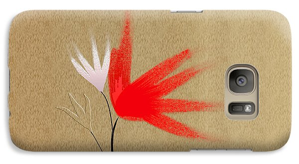 Galaxy Case featuring the digital art Wish Flowers by Asok Mukhopadhyay