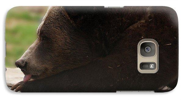 Galaxy Case featuring the photograph Wish I Was A Polar Bear by B Wayne Mullins