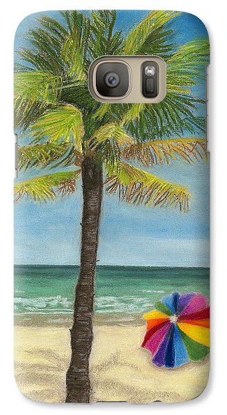 Galaxy Case featuring the painting Wish I Was There by Arlene Crafton
