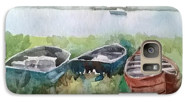 Galaxy Case featuring the painting Wishing And Hoping by Elizabeth Carr