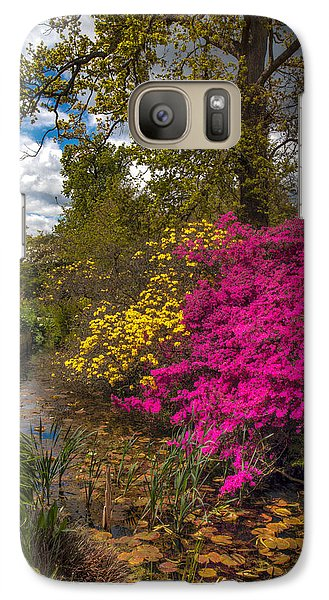 Galaxy Case featuring the photograph Wisley Garden by Ross Henton