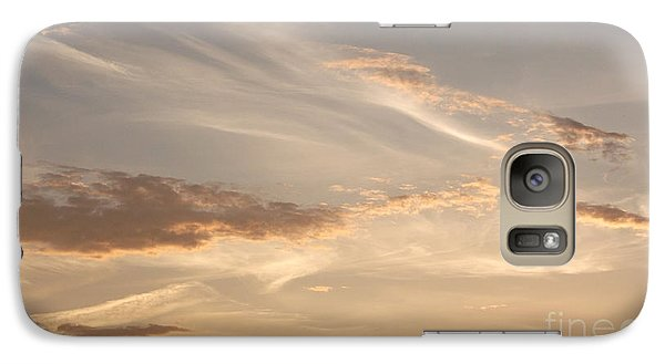 Galaxy Case featuring the photograph Wispy Sunset by Debi Dmytryshyn