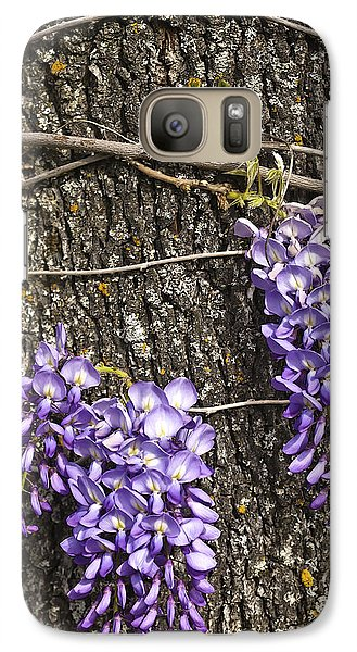Galaxy Case featuring the photograph Wisteria  by Sherri Meyer