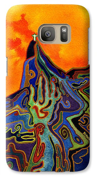 Galaxy Case featuring the painting Witchcraft In Brazil by David Klaboe