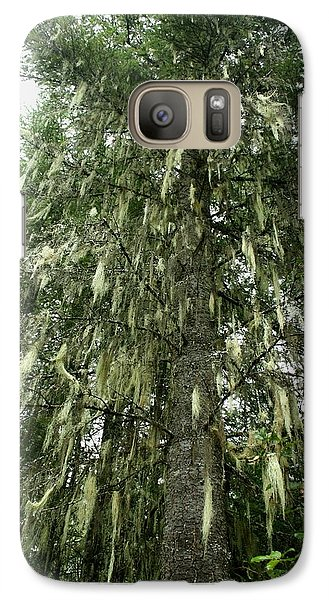 Galaxy Case featuring the photograph Witches Hair On Tree by Amanda Holmes Tzafrir
