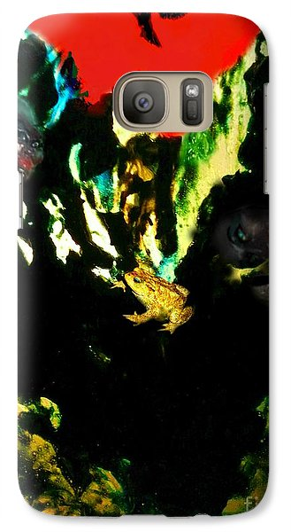 Galaxy Case featuring the mixed media Witches' Sabbath by Steed Edwards