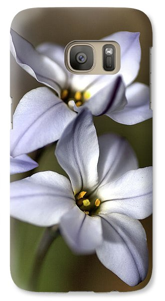 Galaxy Case featuring the photograph With Company by Joy Watson