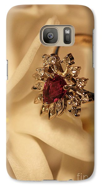 Galaxy Case featuring the photograph With Love by Joy Watson