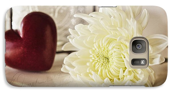 Galaxy Case featuring the photograph With Love by Kim Andelkovic