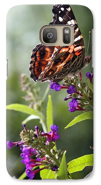 Galaxy Case featuring the photograph With These Wings by Geri Glavis