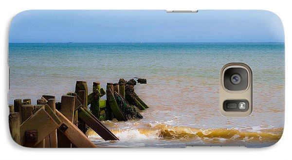 Withernsea Groynes Galaxy S7 Case
