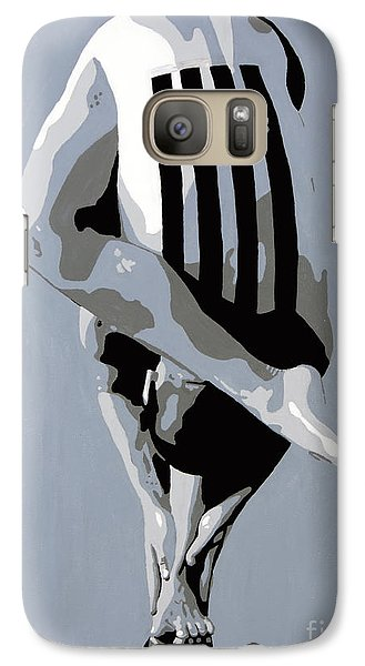 Galaxy Case featuring the painting Within by Denise Deiloh