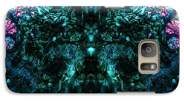Galaxy Case featuring the digital art Within Transcendence by Christophe Ennis
