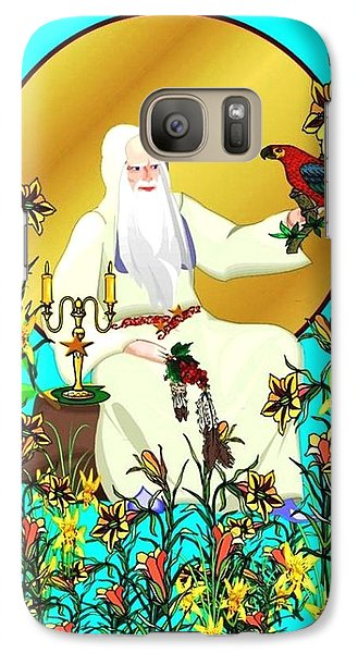 Galaxy Case featuring the digital art Wizard's Garden by Mary Anne Ritchie