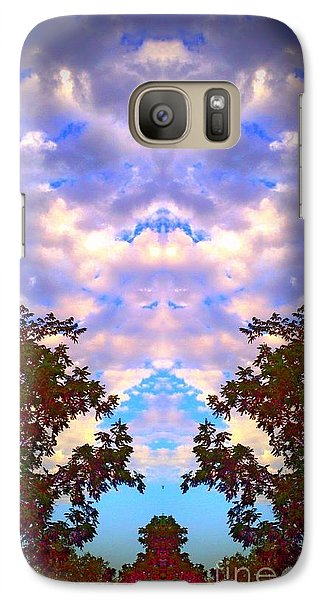Galaxy Case featuring the photograph Wizards In The Clouds by Karen Newell