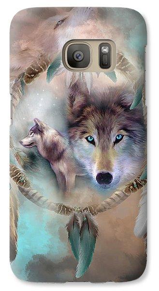 Wolf - Dreams Of Peace Galaxy S7 Case