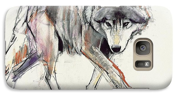 Wolf  Galaxy S7 Case by Mark Adlington