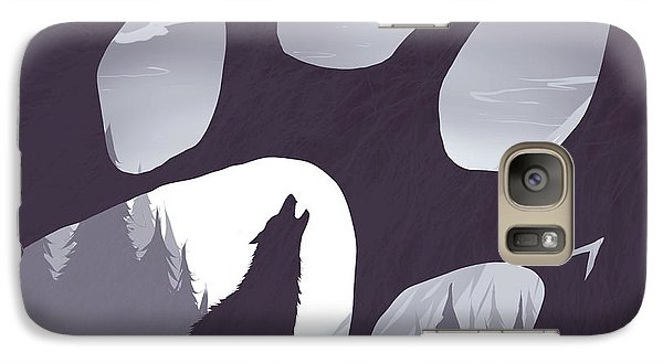 Wolves Galaxy S7 Case - Wolf Paw by Daniel Hapi