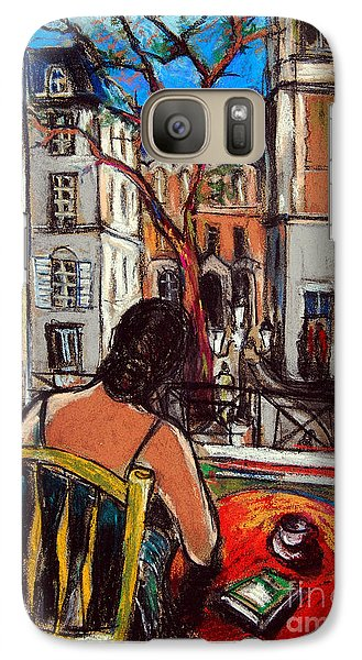 Woman At Window Galaxy S7 Case