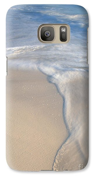 Galaxy Case featuring the photograph Woman On Beach by Chris Scroggins
