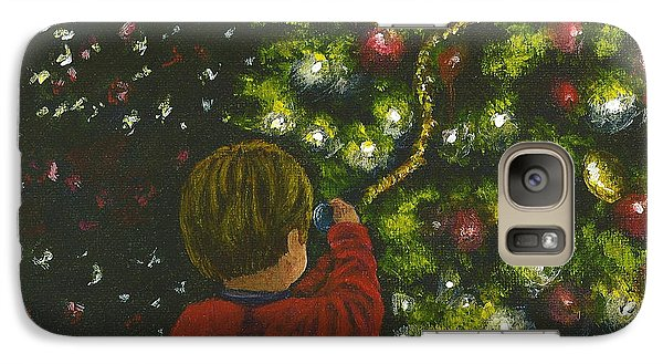 Galaxy Case featuring the painting Wonder by Dan Wagner