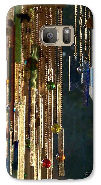 Galaxy Case featuring the glass art Wonderland by Jackie Mueller-Jones