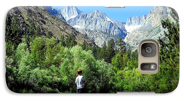 Galaxy Case featuring the photograph Wonderment by Marilyn Diaz