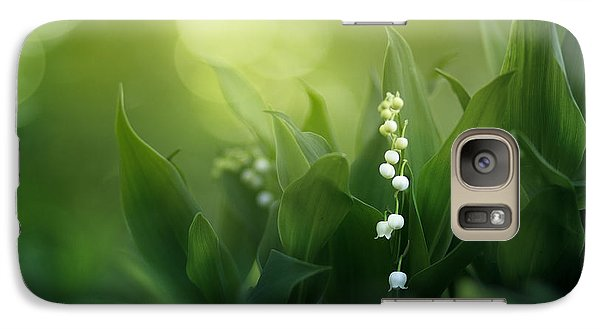 Lily Galaxy S7 Case - Wonders Of Spring Forest by Magda  Bognar