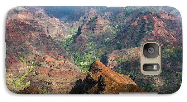 Galaxy Case featuring the photograph Wonders Of Waimea by Suzanne Luft