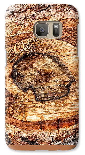 Wood Detail Galaxy S7 Case by Matthias Hauser