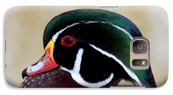 Galaxy Case featuring the photograph Wood Duck 1 by Bob and Jan Shriner