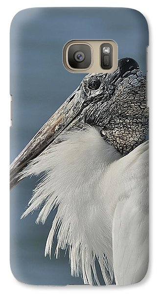 Wood Stork Portrait Galaxy S7 Case