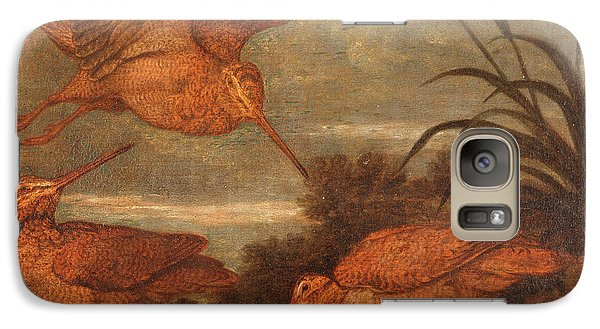 Woodcock At Dusk, Francis Barlow, 1626-1702 Galaxy S7 Case by Litz Collection