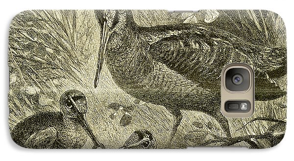 Woodcock Austria 1891 Galaxy Case by Austrian School
