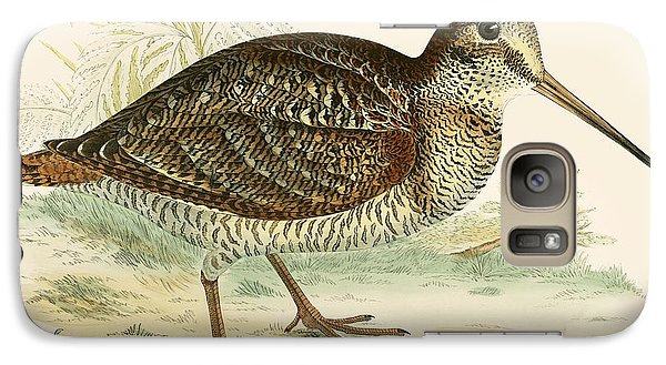 Woodcock Galaxy S7 Case by Beverley R Morris