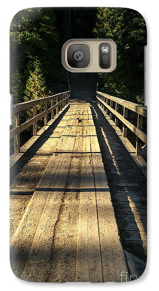 Galaxy Case featuring the photograph Wooden Bridge by Sue Smith