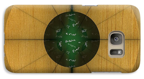 Galaxy Case featuring the digital art Wooden Pinwheel by Melissa Messick