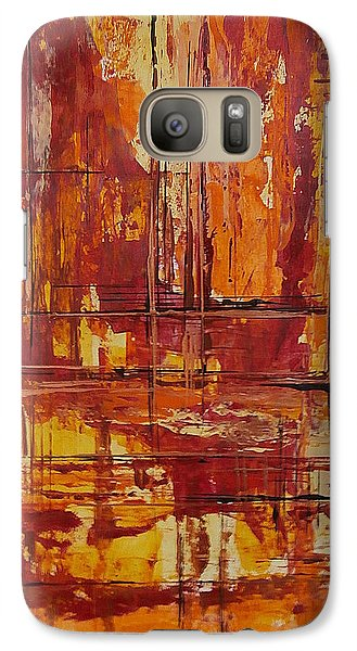 Galaxy Case featuring the painting Wooden Ships by Buck Buchheister