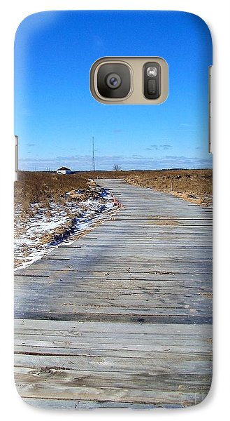 Galaxy Case featuring the photograph Plum Island by Eunice Miller