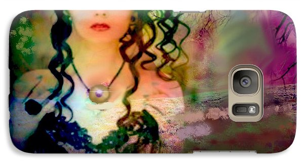 Galaxy Case featuring the digital art Woodland Beauty by Diana Riukas