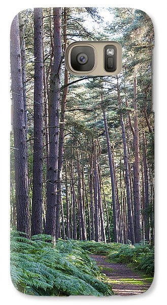 Galaxy Case featuring the photograph Woodland Path by David Isaacson