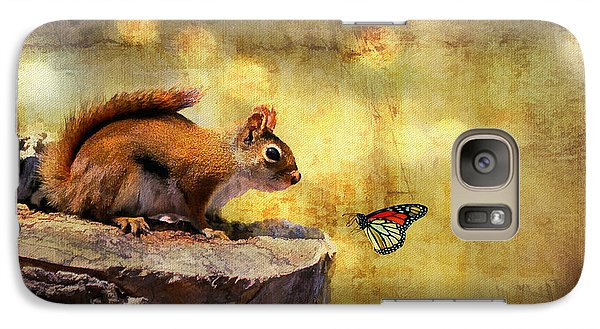 Galaxy Case featuring the photograph Woodland Wonder by Lois Bryan