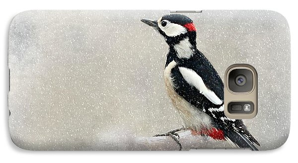 Woodpecker Galaxy S7 Case by Heike Hultsch