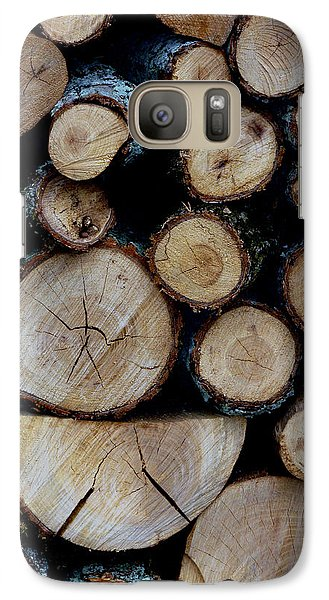 Galaxy Case featuring the photograph Woods For The Fireplace 004 by Dorin Adrian Berbier