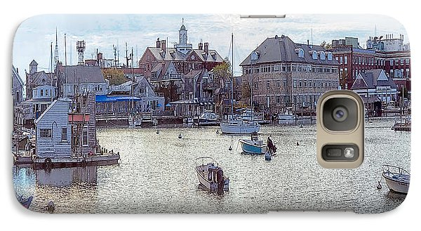 Galaxy Case featuring the photograph Woods Hole Harbor by Constantine Gregory
