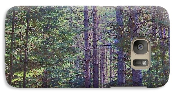 Galaxy Case featuring the photograph Woods II by Shirley Moravec