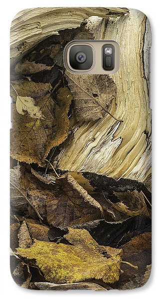 Galaxy Case featuring the photograph Woodwork 4 by Michael Canning