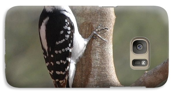 Galaxy Case featuring the photograph Woody by Mim White