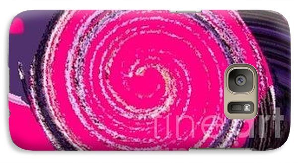 Galaxy Case featuring the digital art Work Of Art by Catherine Lott